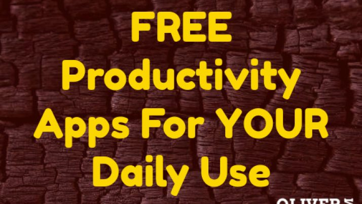 The Free Productivity Apps You Can Use Every Day